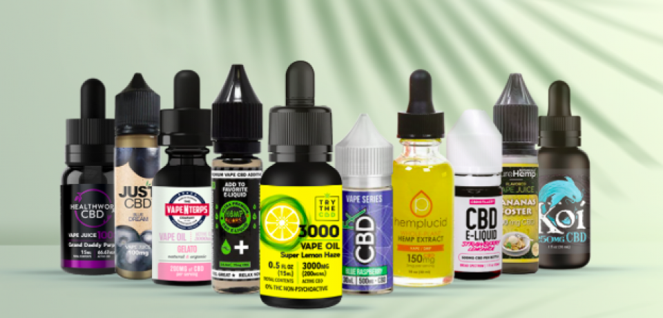 The Benefits Of Using The Cbd Vape Oil