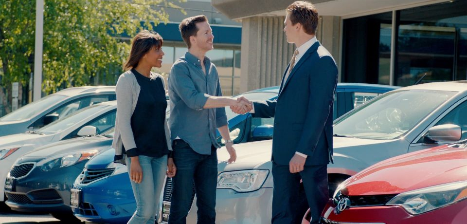 Buying a car from a private seller is a downside